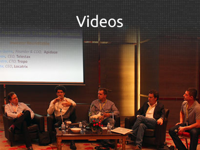 Videos from Telecom Application Developer Summit Bangkok 2013