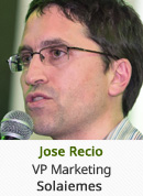 Jose Recio - VP Marketing, Solaiemes