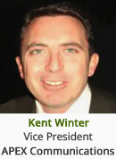 Kent Winter - Vice President, APEX Communications
