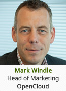 Mark Windle - Head of Marketing, OpenCloud