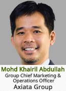 Mohd Khairil Abdullah - Group Chief Marketing & Operations Officer, Axiata Group