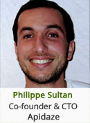 Philippe Sultan, Cofounder and CTO, Apidaze
